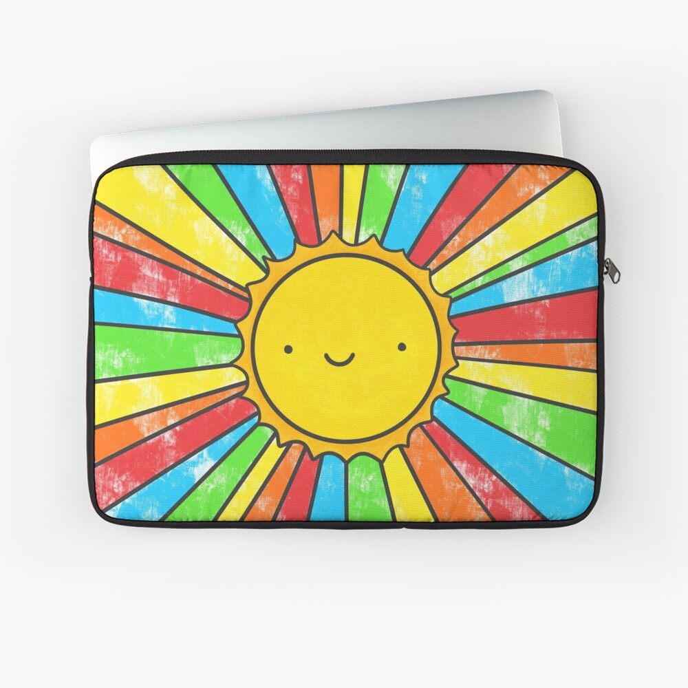 Radiate Positivity Laptop Sleeve Front