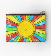 Radiate Positivity Zipper Pouch