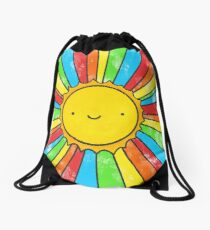 Radiate Positivity Drawstring Bag