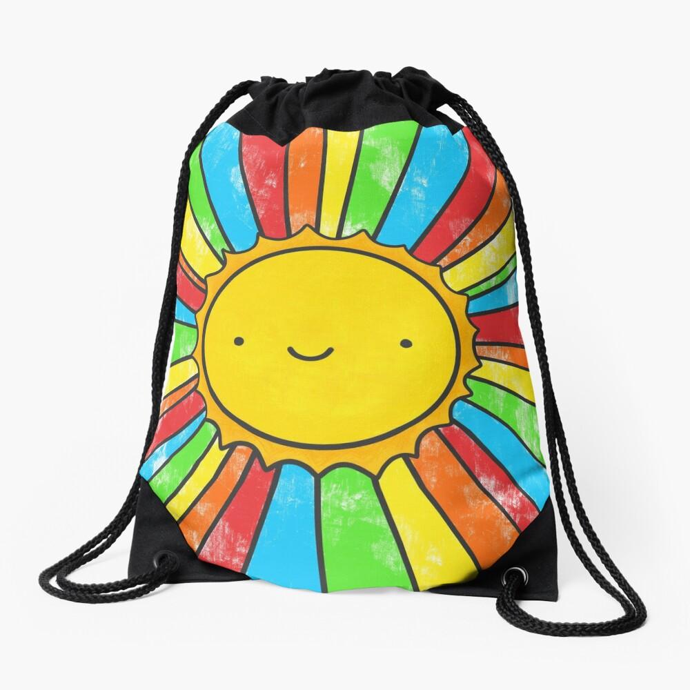 Radiate Positivity Drawstring Bag