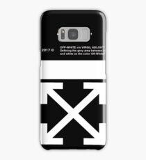 Iphone Off White Logo Samsung Galaxy Case/Skin