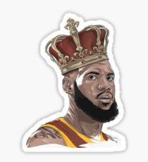 Lebron James The King Sticker