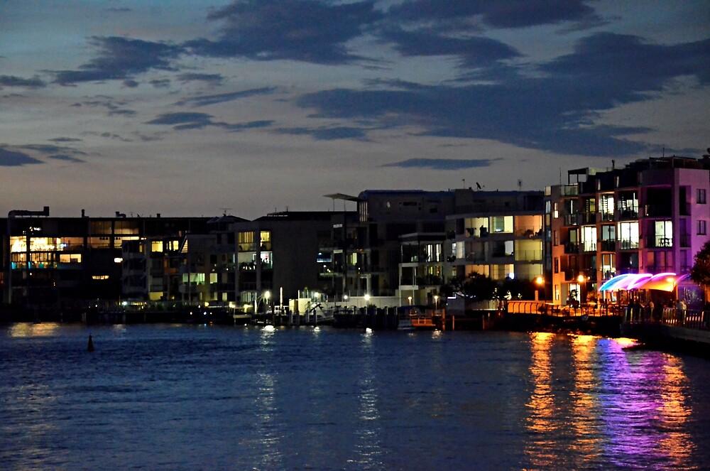 Night falls on Caloundra's Golden Beach by Kerry LeBoutillier