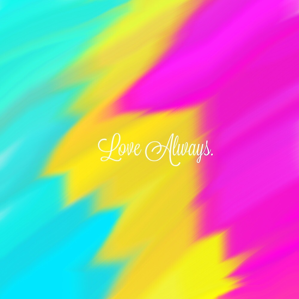 Love Always Pansexual Flag  by Oddlyspecificc