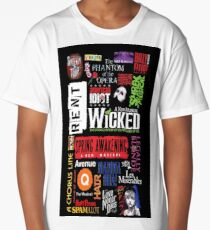 Music Collage Long T-Shirt