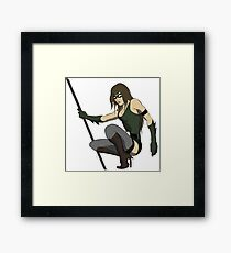Super Hero Woman Framed Print