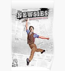 Newies Broadway Musical Poster