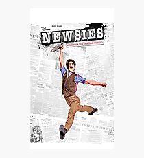 Newsies Broadway Musical Photographic Print
