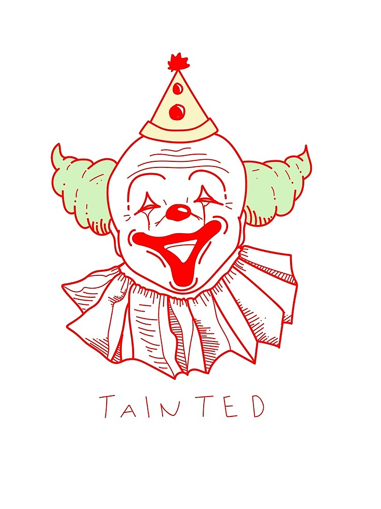 tainted clown colored by Nyahilate
