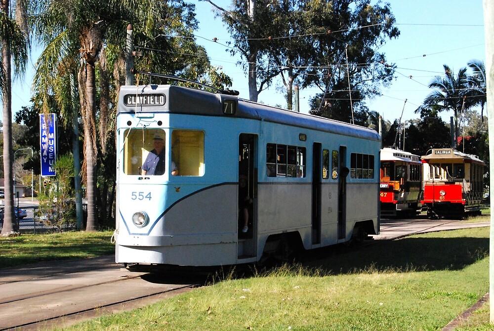 Brisbane trams - now long gone by Kerry LeBoutillier