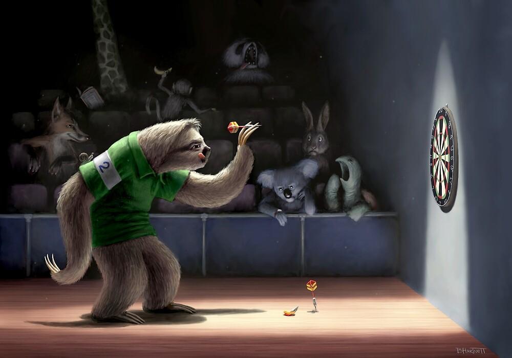 Sloth Darts by Ben Hartnett