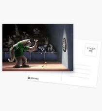 Sloth Darts Postkarten