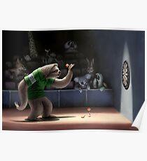Sloth Darts Poster