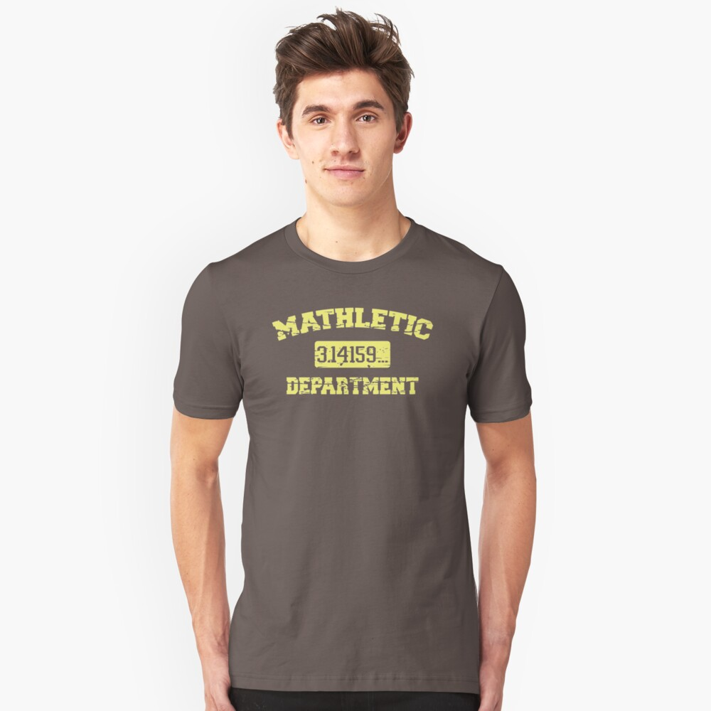 Mathletic Departemen DI460 Best Trending Unisex T-Shirt Front