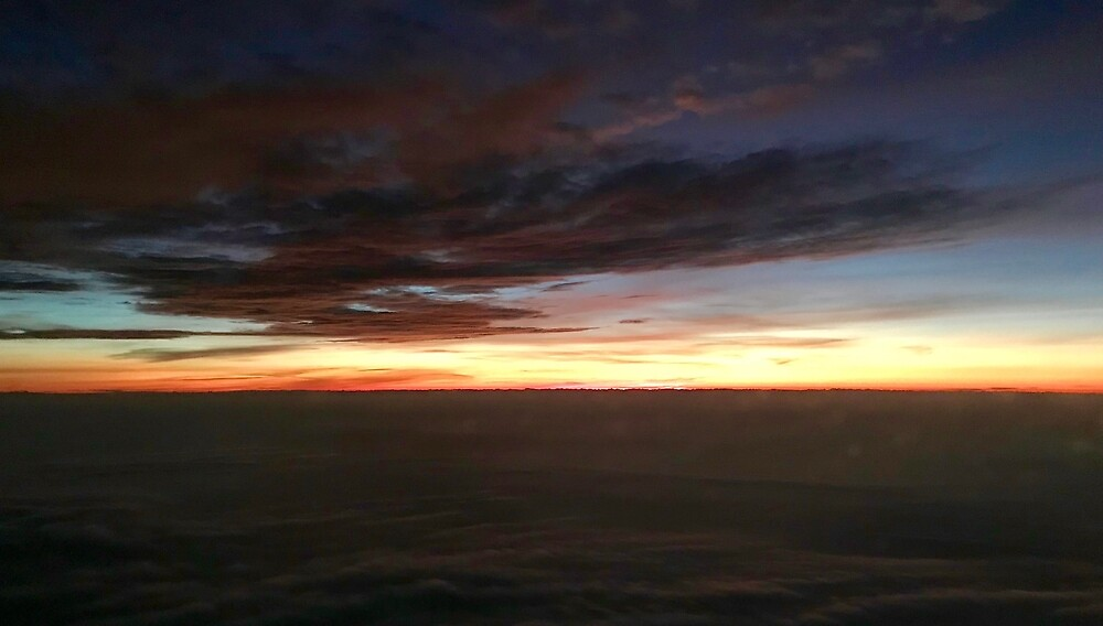 Sunrise Above the Clouds by richardbryce