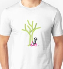 Scootery Boy series - scootin' through autumn t-shirt Unisex T-Shirt