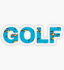 GOLF FLAME | Tyler The Creator Transparent Sticker