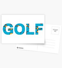 GOLF FLAME | Tyler The Creator Postcards