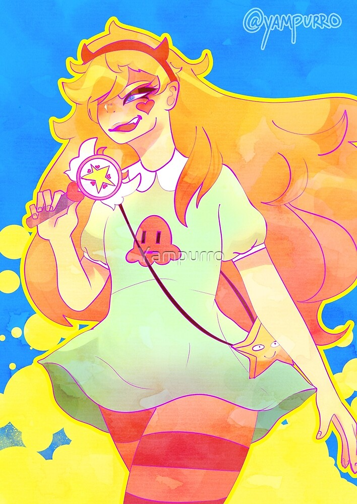 Star butterfly by Yampurro