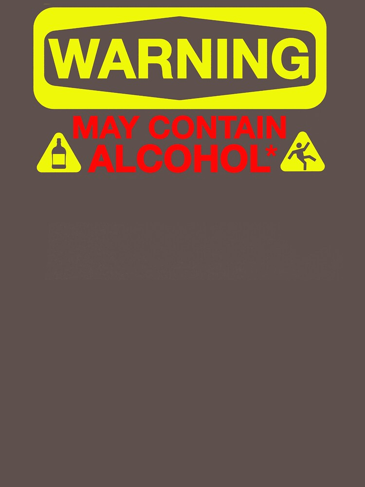 May Contain Alcohol NX796 New Product by Diniansia