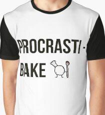 Procrastibake Graphic T-Shirt