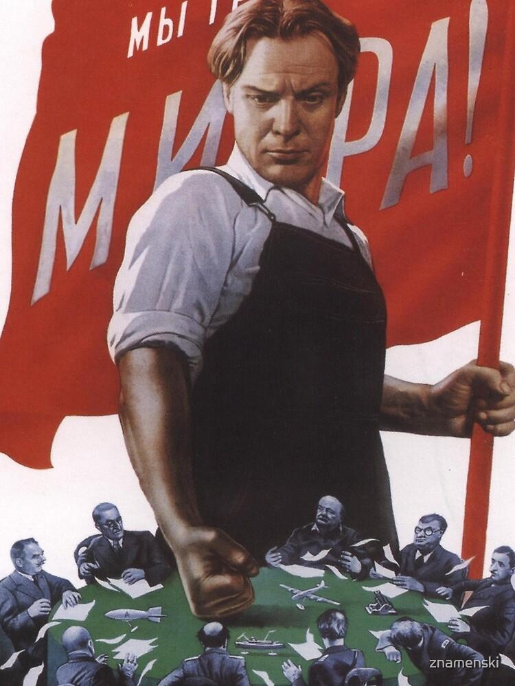 We demand peace! by znamenski