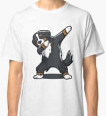 'Bernese Mountain Dog' Cool Dog Dab Dance  Classic T-Shirt