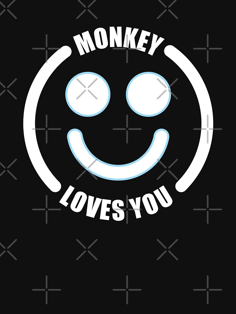 Black Mirror Monkey Loves you by lezcopines