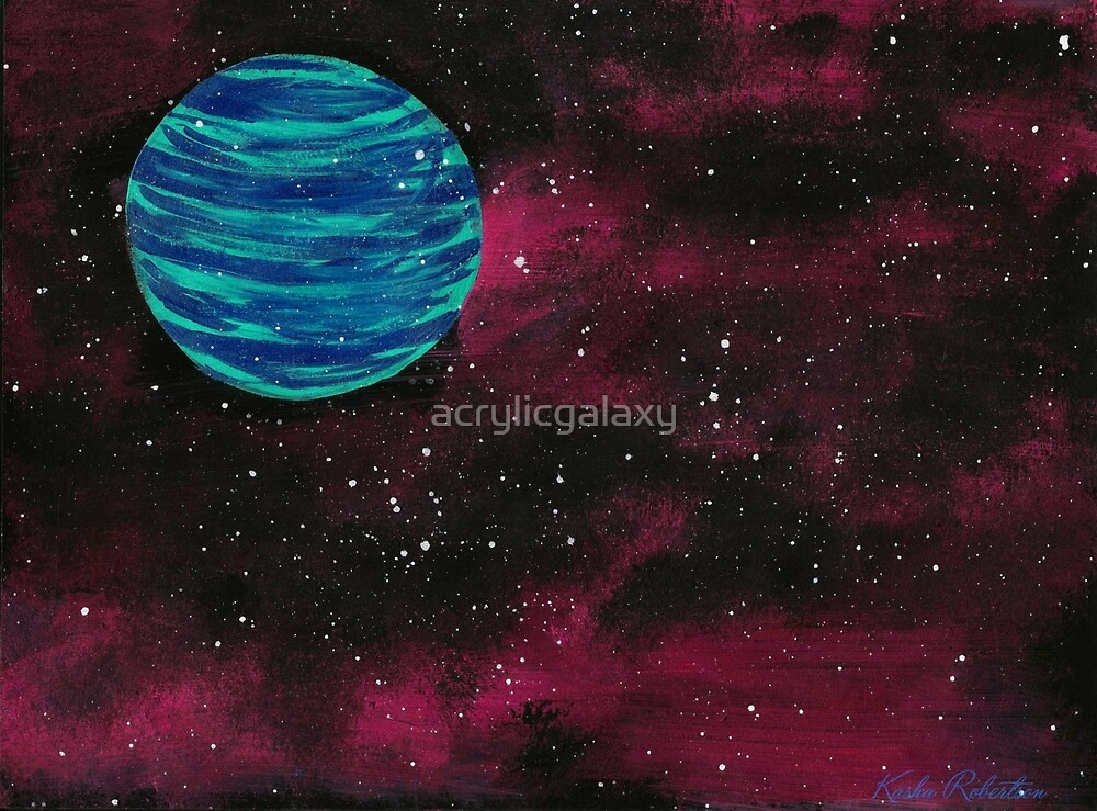 Unexplored  by acrylicgalaxy
