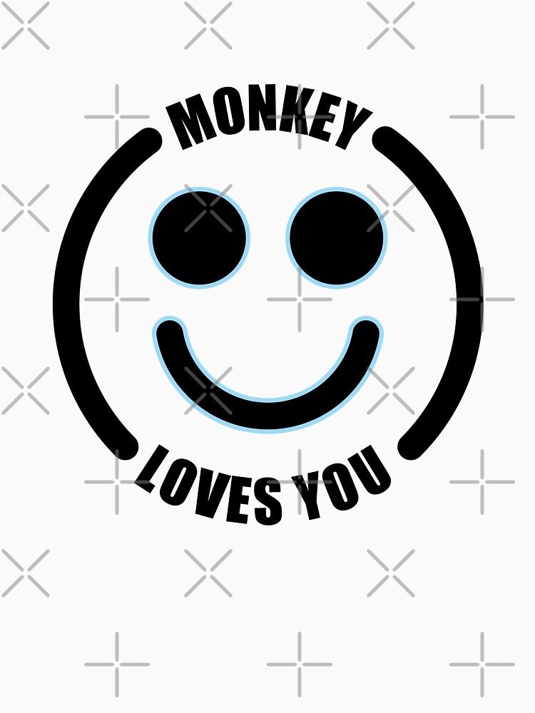 Monkey Loves you Black Mirror by lezcopines