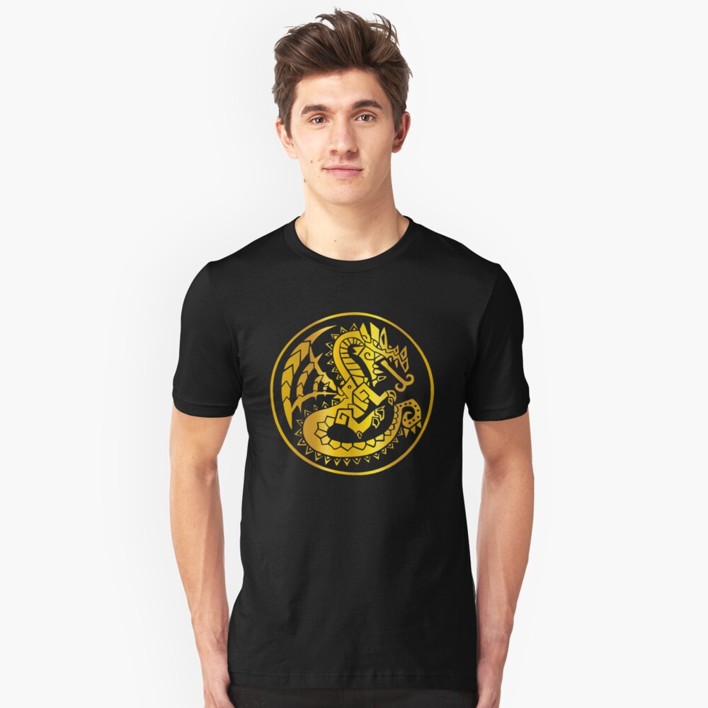 monster hunter world - Shit dropping to your floors Unisex T-Shirt Front