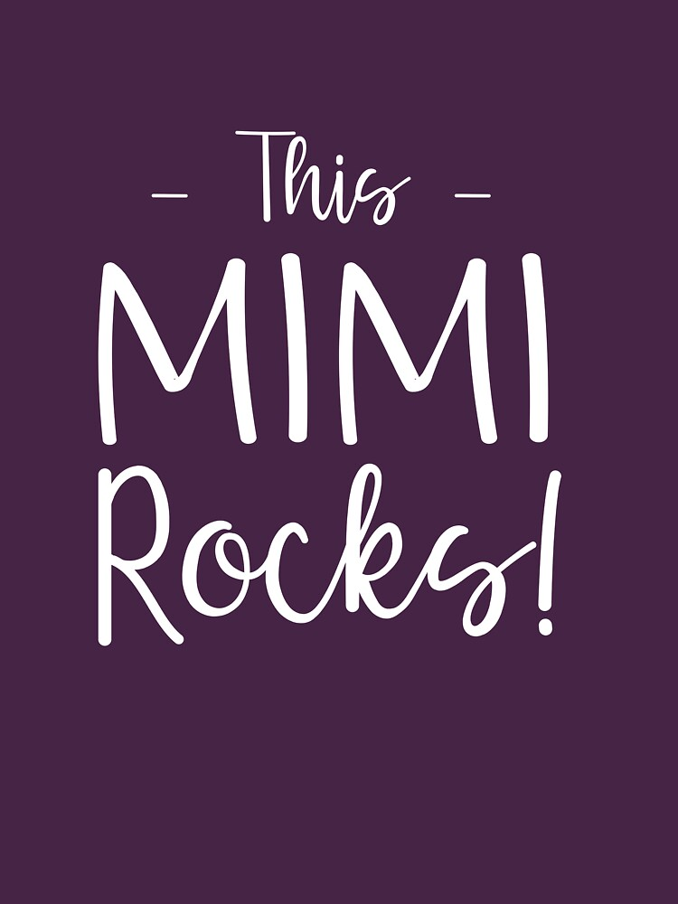 This Mimi Rocks! by wondrous