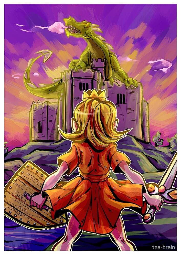 a princess's guide to dragon slaying by tea-brain