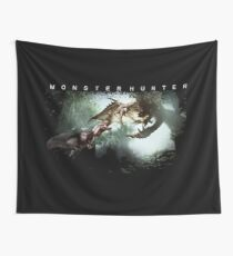 monster hunter world - Shit dropping to your floors Wall Tapestry