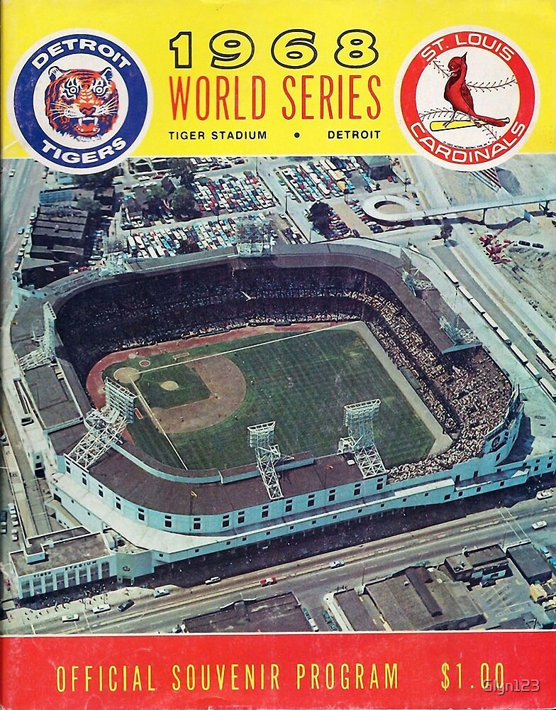 Detroit Tigers St.Louis Cardinals 1968 . Born 68 Fans Birthday Gift by Glyn123