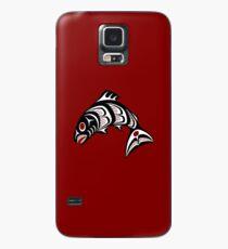 Northwest Pacific coast Haida art Salmon Case/Skin for Samsung Galaxy