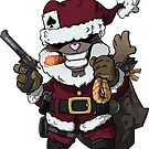 Father Christmas Teddy by hiwez