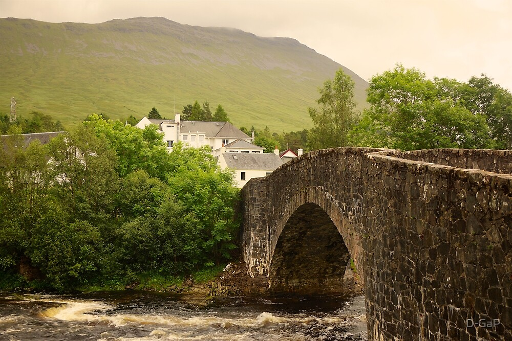 The Bridge of Orchy  by D-GaP