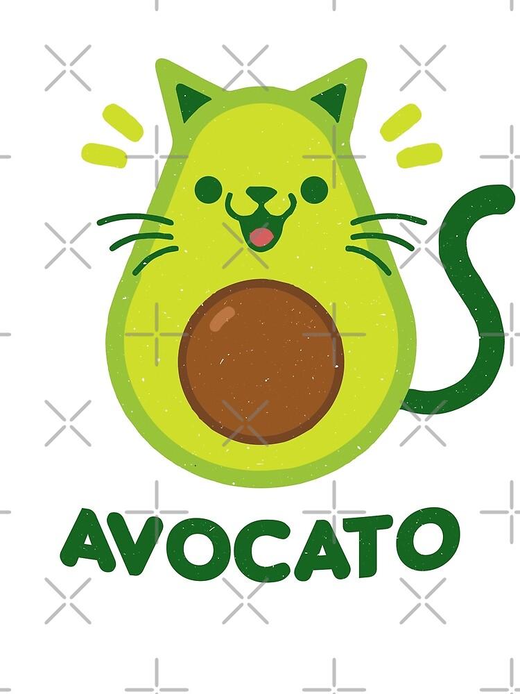 Cat Avocado by BeArts