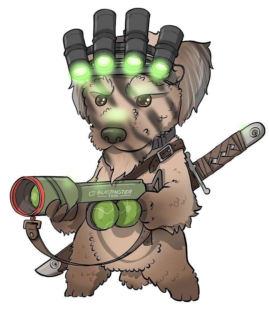 Master Splinter the dog by hiwez