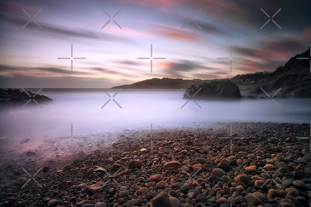 Rotherslade Bay by Leighton Collins