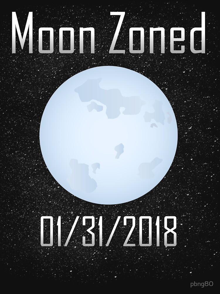 Lunar Eclipse 2018 Moon Zoned by pbng80