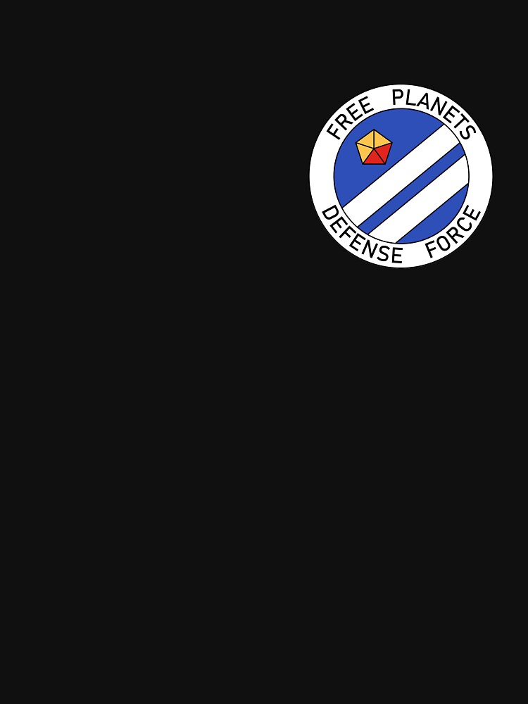 Free Planets Defense Force insignia - corner print by supanerd01