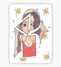 patch work girl-oblivion  Sticker