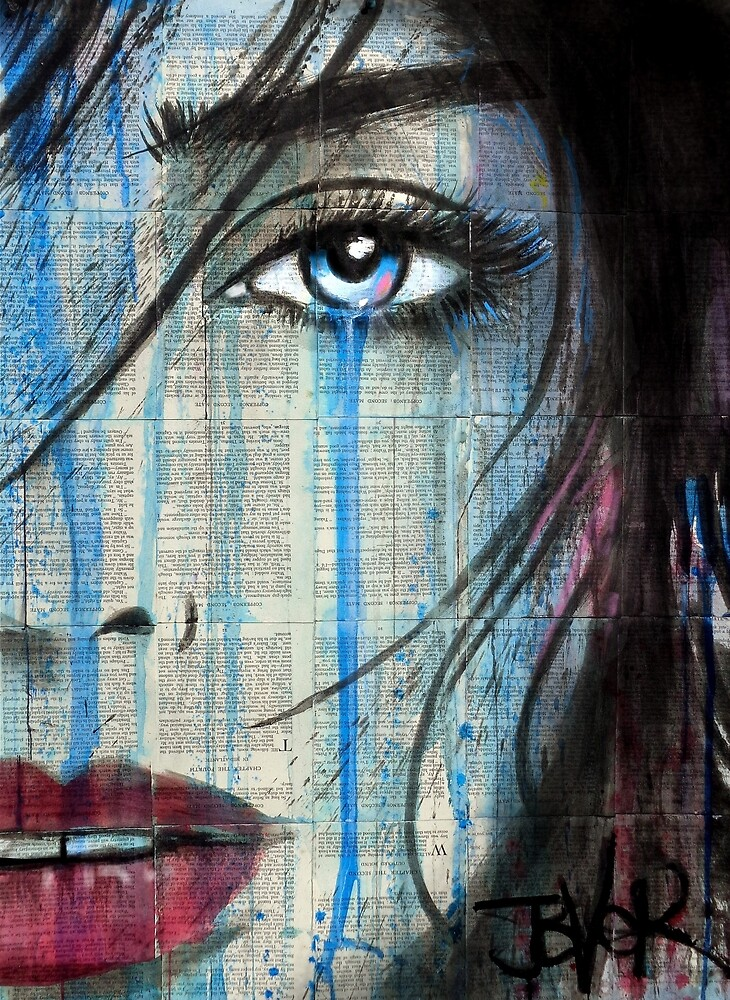 blue serenity by Loui  Jover