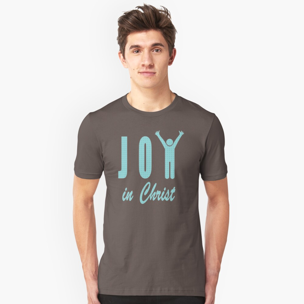 Joy In Christ RP100 New Product Unisex T-Shirt Front