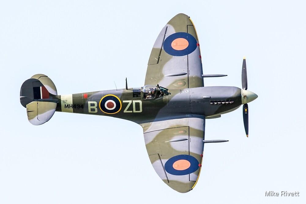 Spitfire MkIX by Mike Rivett
