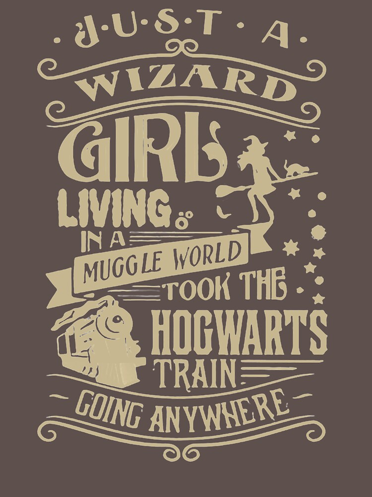 Just A Wizard Girl Living YC252 Best Trending by Anywalks
