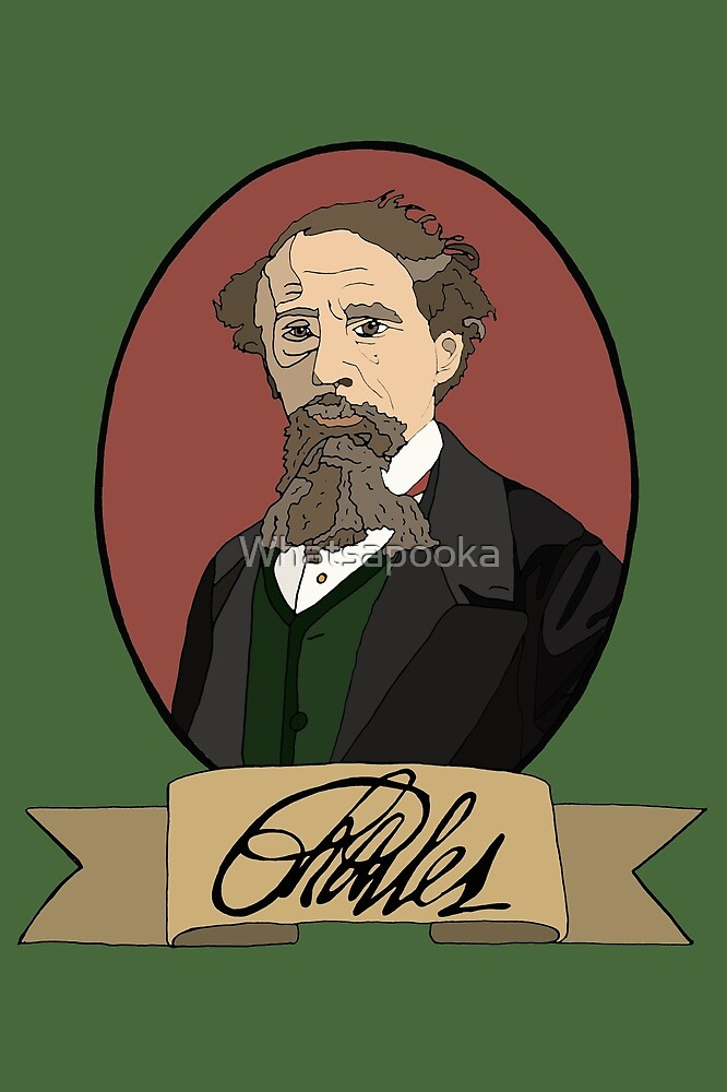 Charles Dickens by Whatsapooka
