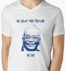 Sir Trevor McDonald (Best on Light) Men's V-Neck T-Shirt